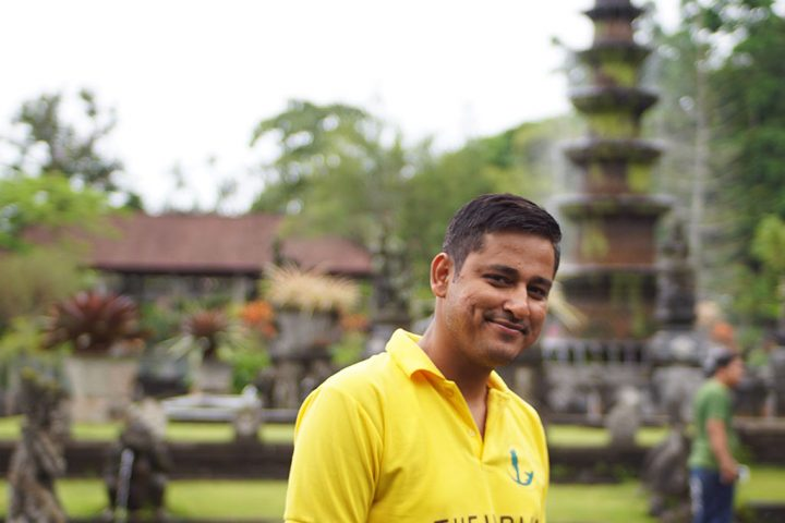 At Tirta Ganga Bali @ TheIndianTourist