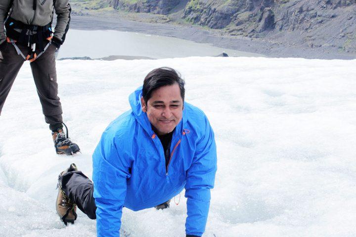Ice trekking, Iceland @TheIndianTourist