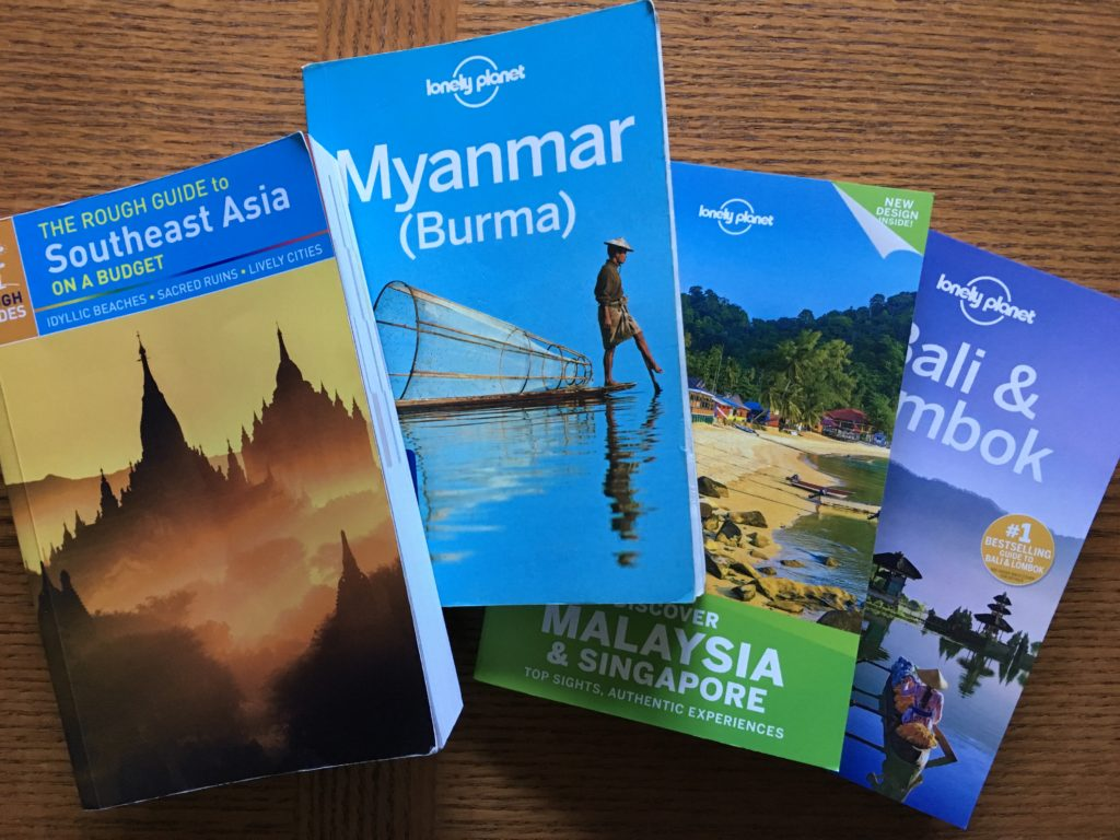 guidebook for getting knowledge about travel area